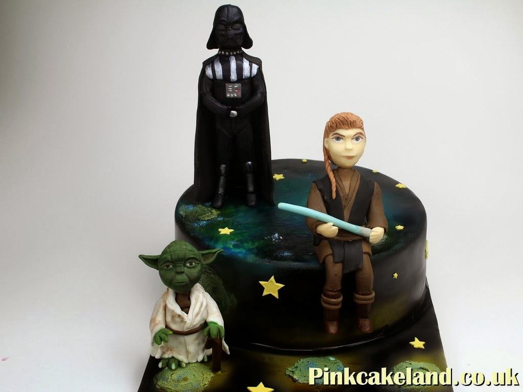Star Wars Birthday Cake, London