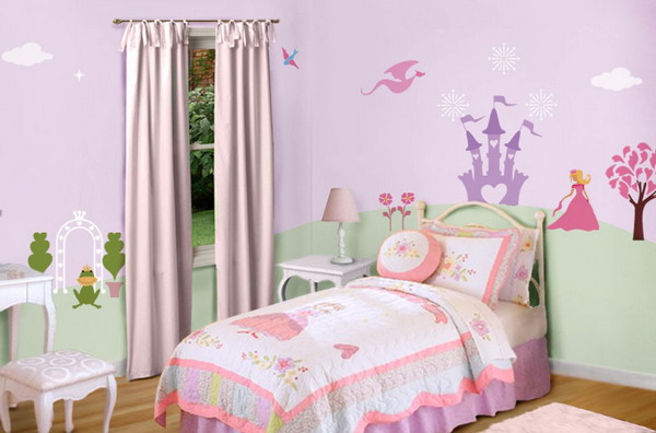 Little girls bedroom paint ideas for little girls bedroom - Paint colors for girl rooms ...