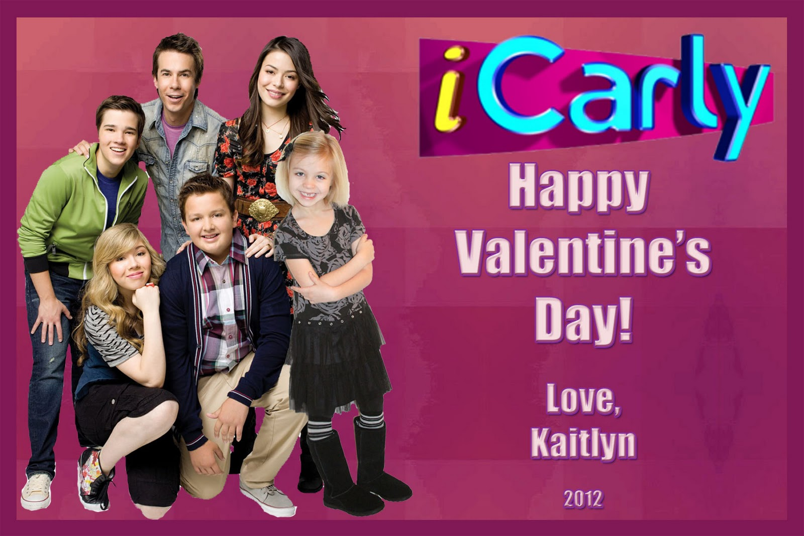 The Design Studio Valentines Day Cards – Icarly Valentine Cards