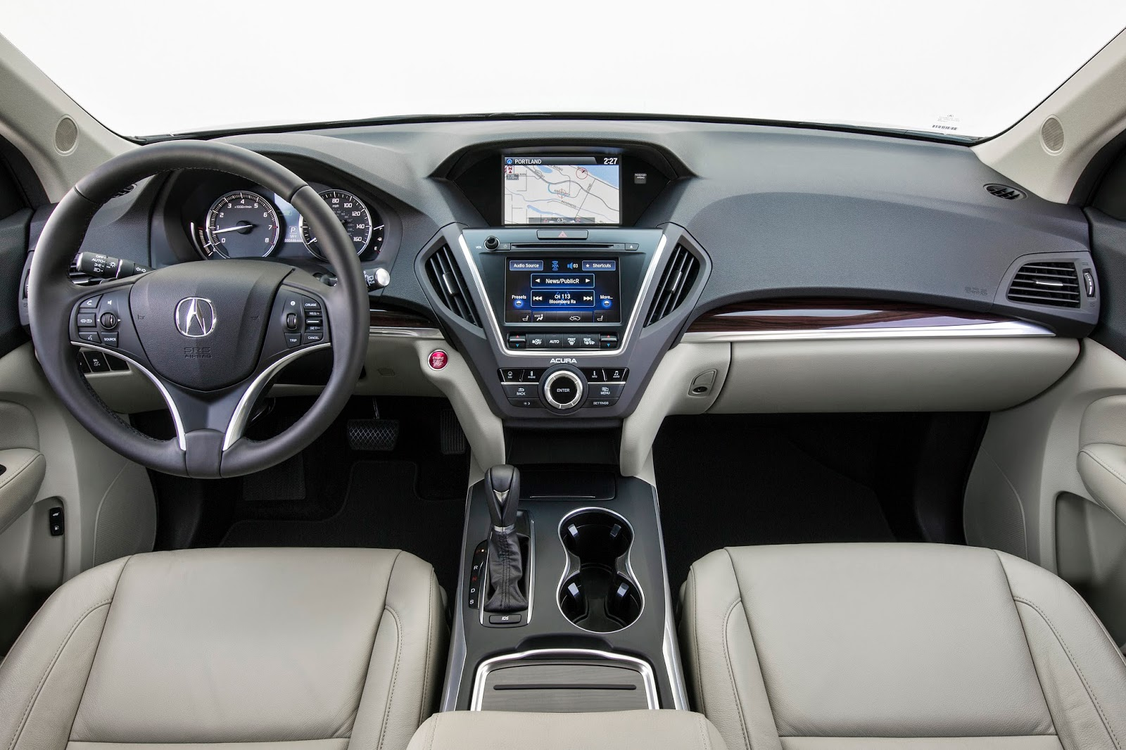 Interior view of 2014 Acura MDX