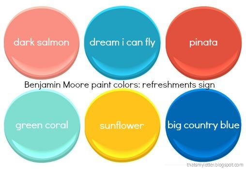 bright Benjamin Moore colors