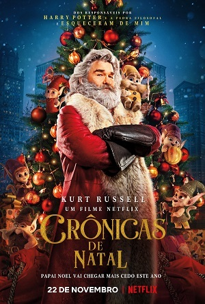 The Christmas Chronicles 720p Baixar torrent download capa