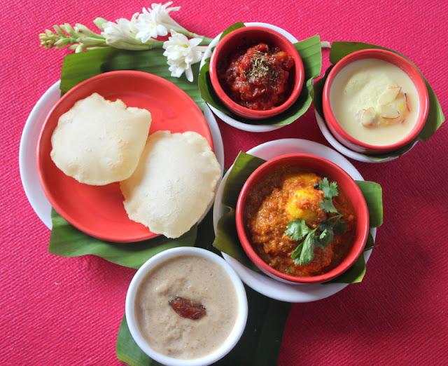 Ribbon 39 s to pasta 39 s aaloor dum with luchi bengali cuisine for Authentic bengali cuisine