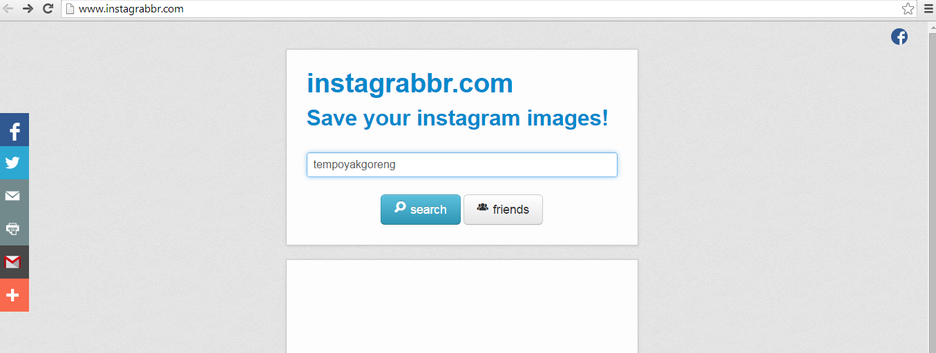 Tutorial Cara Nak Save Gambar Instagram