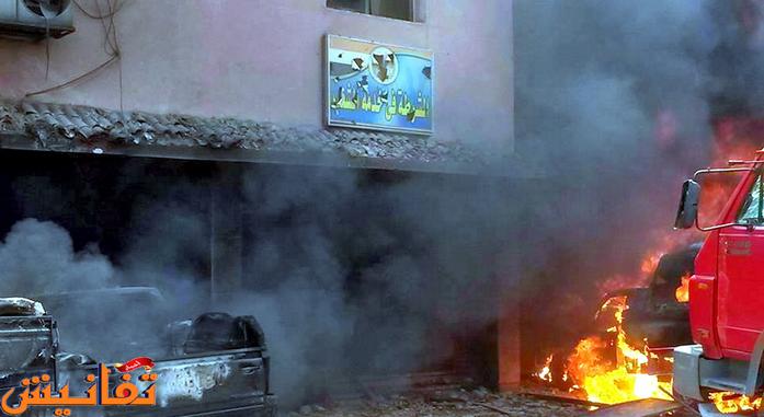 انفجار عبوة ناسفة في زهراء المعادي قبل قليل