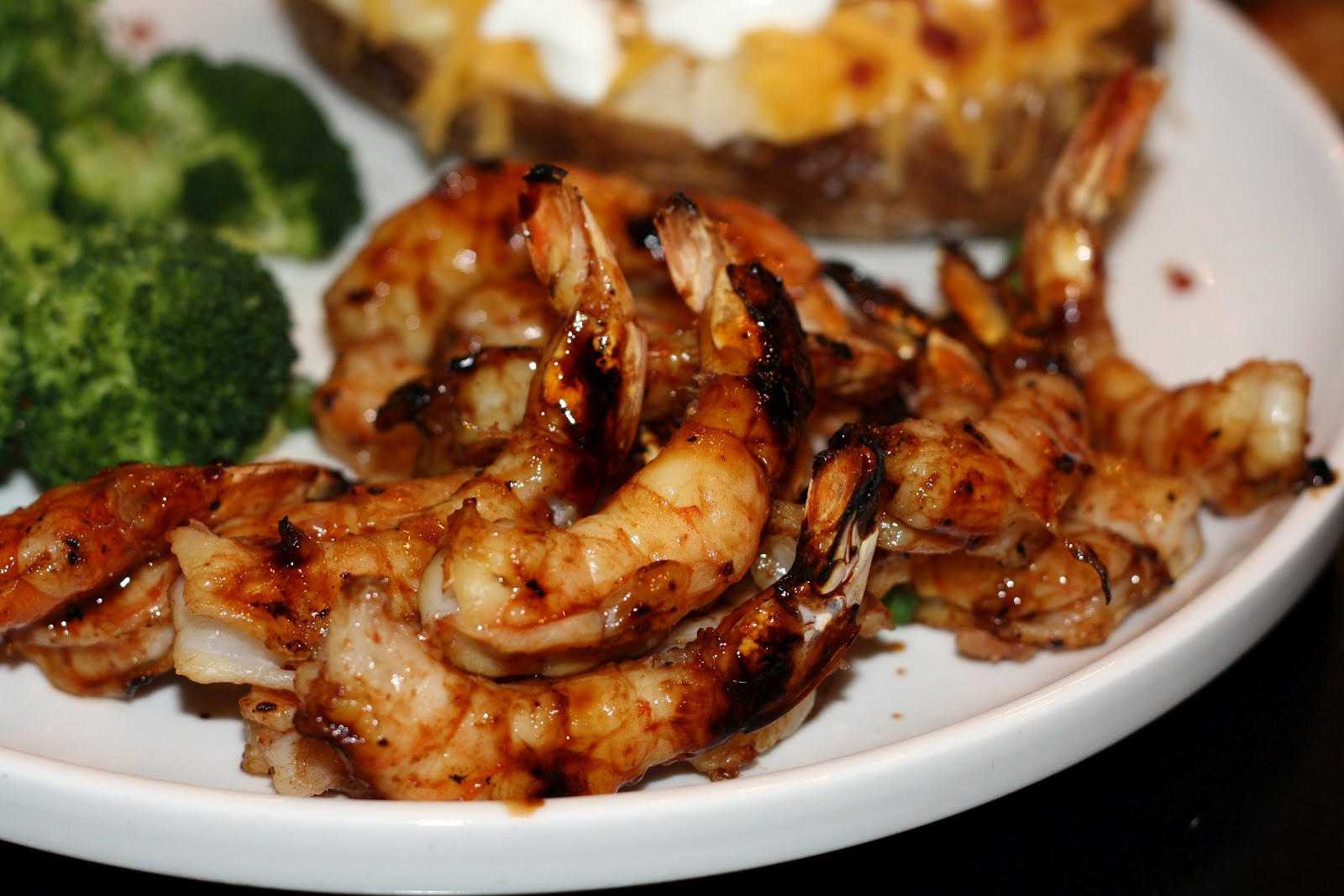 what's for dinner?: spicy-sweet glazed shrimp... 20 minutes