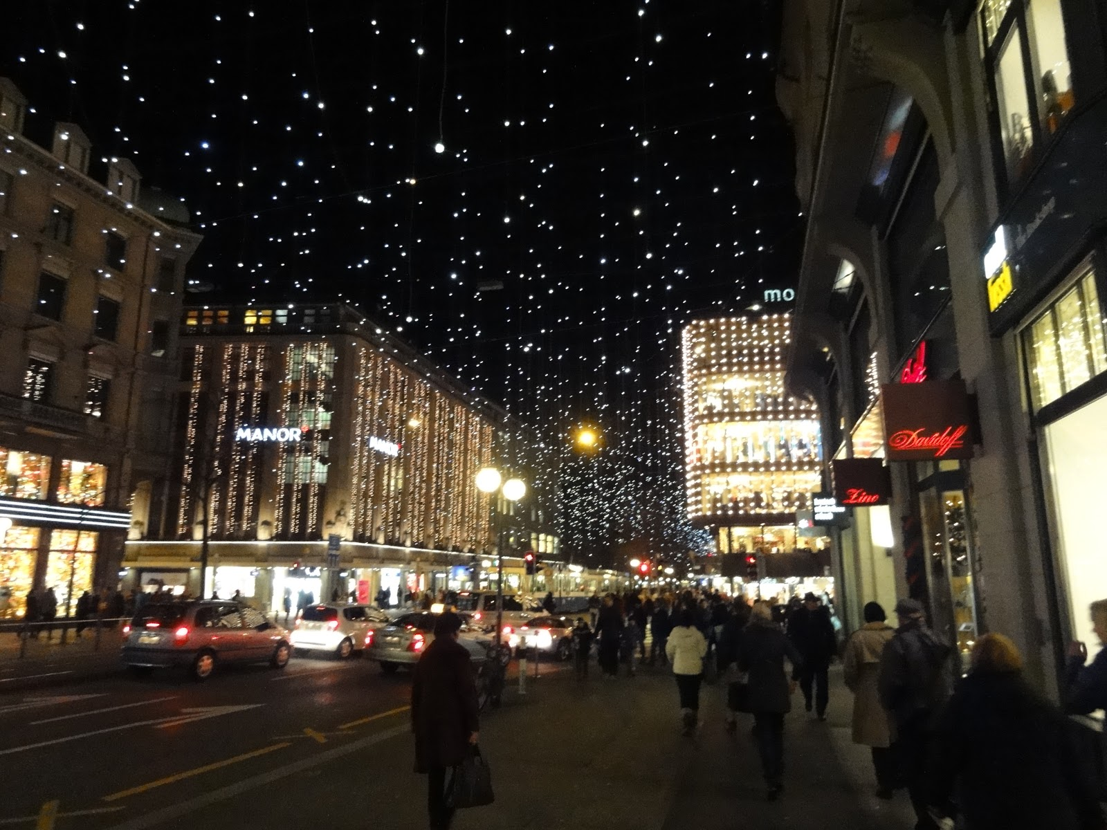 both cities zurich is especially beautiful at christmastime i think