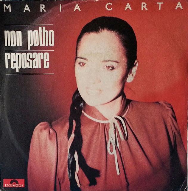 MARIA CARTA - No potho reposare