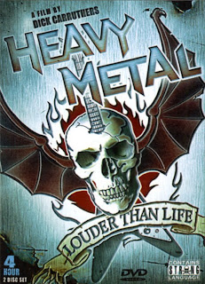 Heavy Metal: Louder than Life. Documental subtitulado.