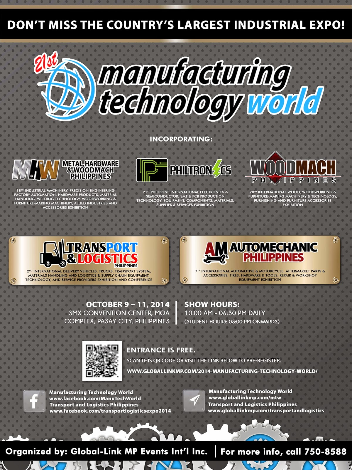 21st Manufacturing Technology World Sets the Stage for Country's Biggest Industrial Expo