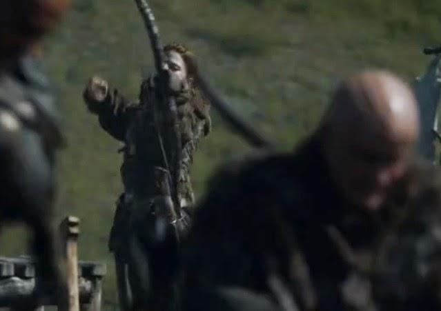 Ygritte y los Salvajes episodio 4x03 - Juego de Tronos en los siete reinos