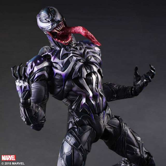 marvel varian play arts venom