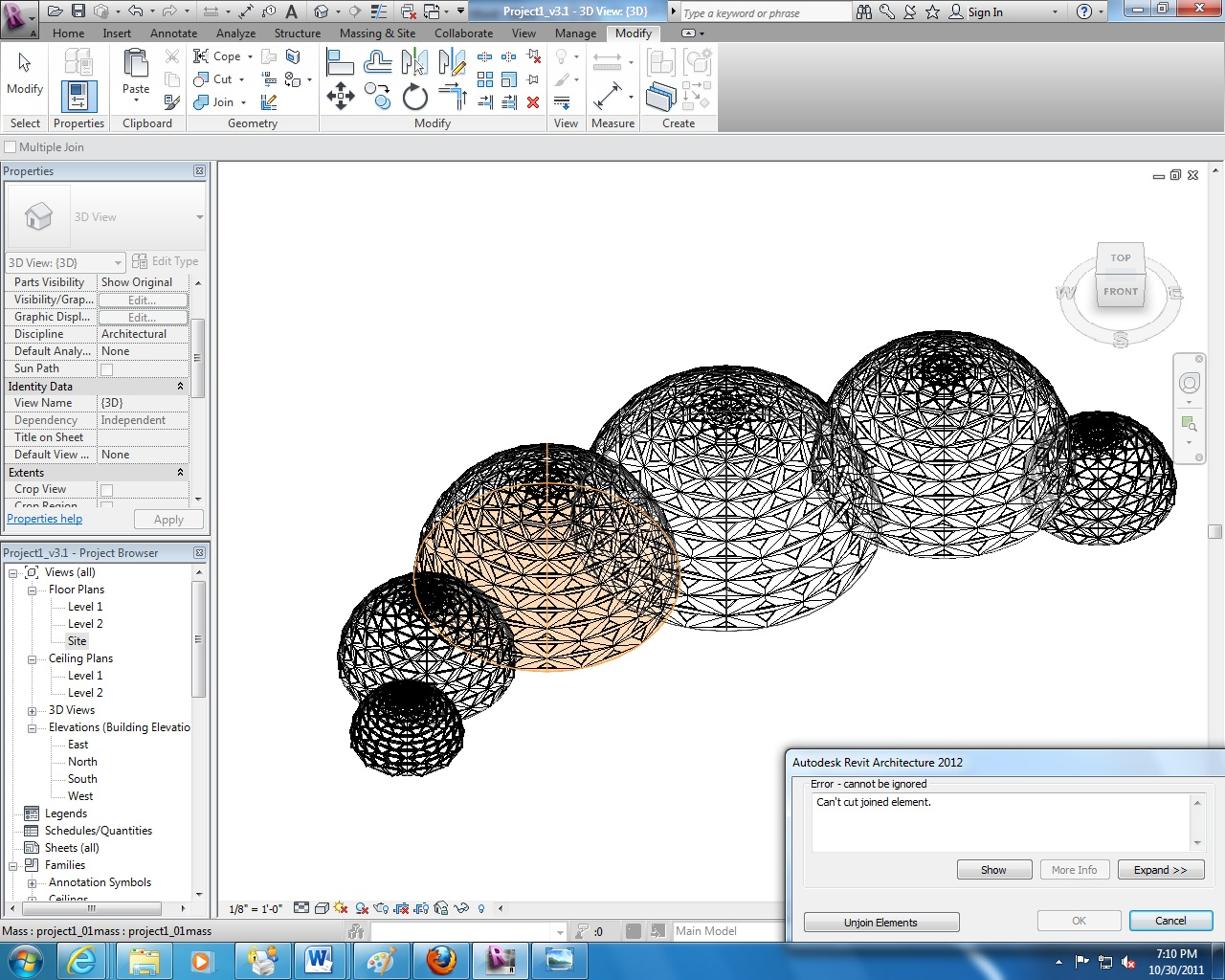 how to make a solid dome in sketchup