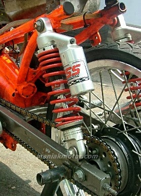 Foto Modifikasi Jupiter Z Model Drag Bike Terbaru 2014