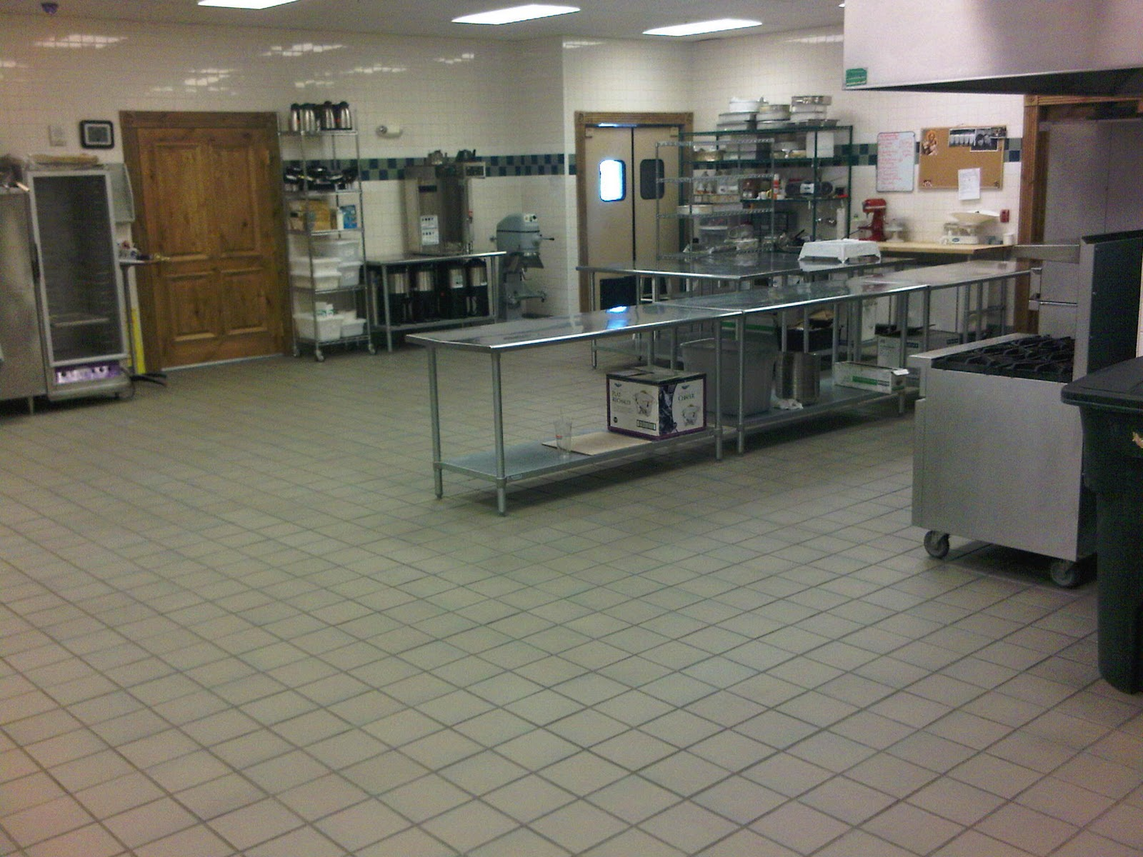 Commercial Kitchen Remodel   Quarry Tile