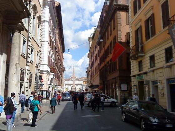Roma la via del corso historia y turismo en roma for Mac roma via del corso