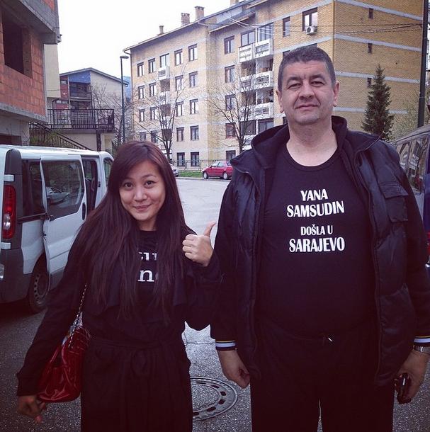 Yana Samsudin Dikritik Gara-Gara Gambar 'Dukung'