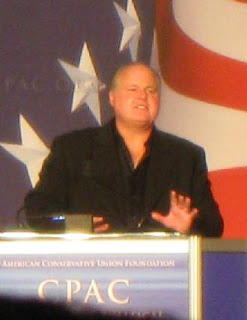 Rush Limbaugh Conservative talk show host