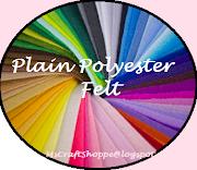 100% Plain Polyester Felt