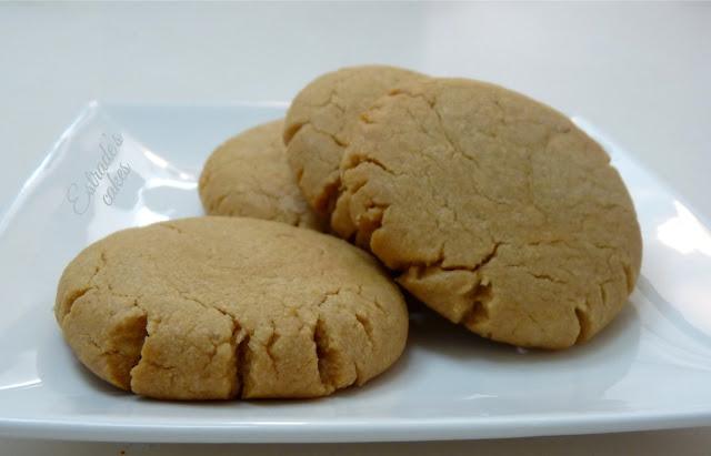 receta de galletas con crema de cacahuete - 01
