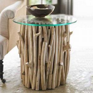 DIY decorar con troncos de madera El Pais de Sarah