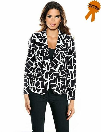 Пиджак Ashley Brooke геометрический принт