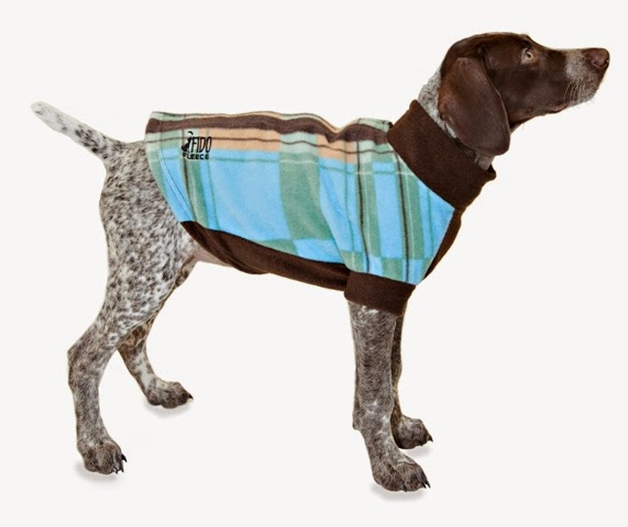 Plaid Winter fleece for dogs