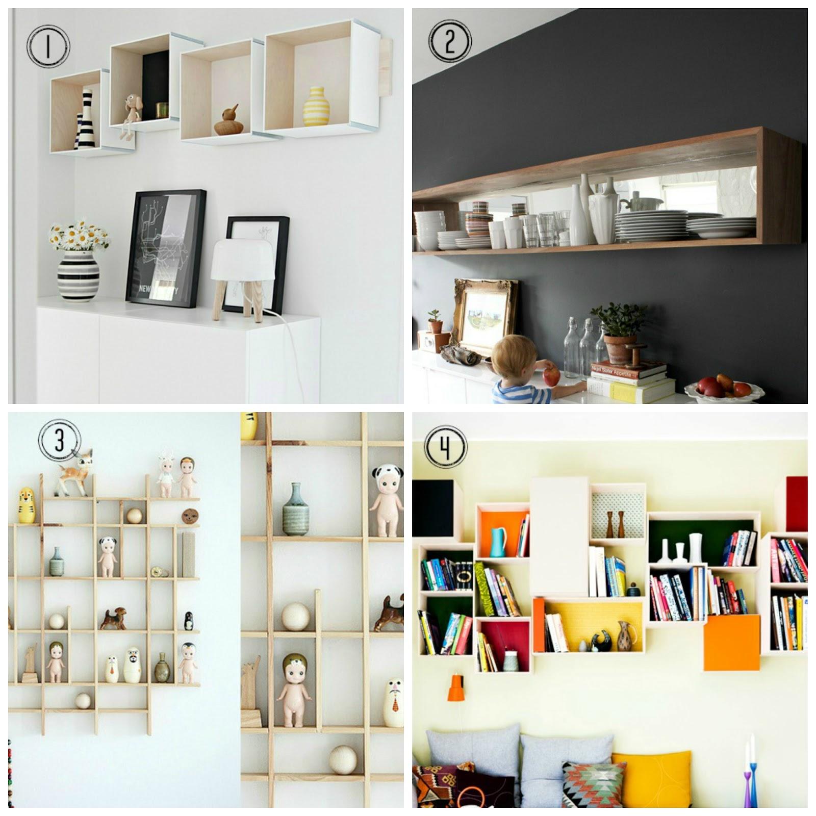 8 DIY Shelf Ideas / Design Tendencies