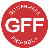 We have Gluten Free Friendly