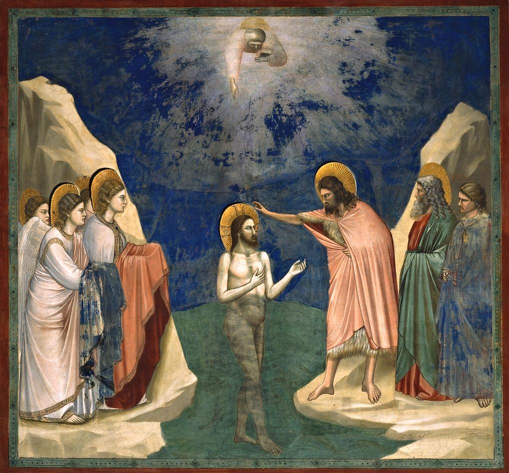 El católico pensante: El bautismo de Jesús