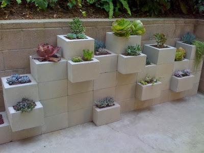 making-cinder-block-planter