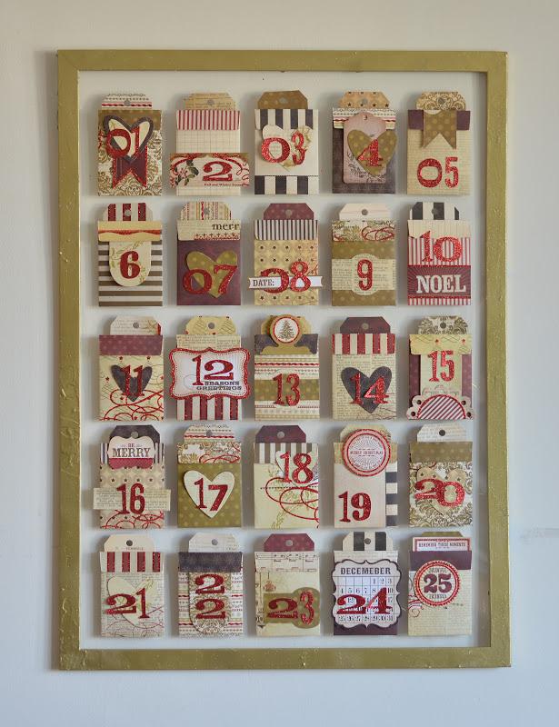 Advent Calendar Ideas Uk : Crafting ideas from sizzix uk advent calendar mini album