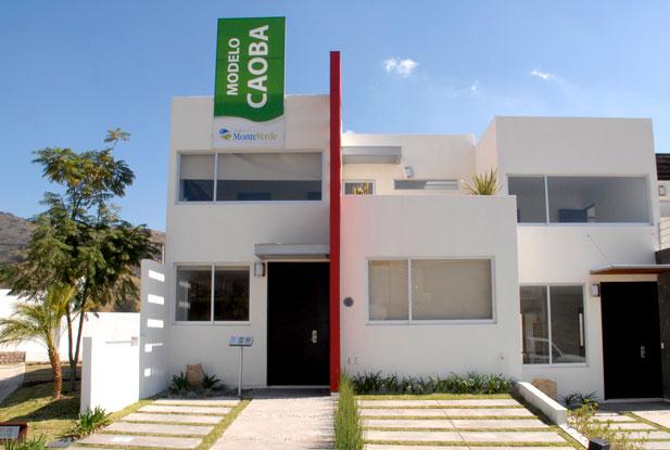 Fachadas de casas modernas fachada de casa moderna estilo for Modelos de casas minimalistas modernas