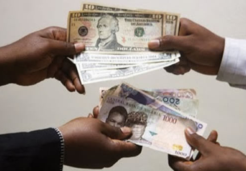 naira depreciation us dollars