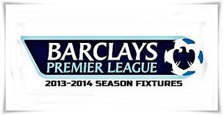 English Premier League Fixtures 2013 - 14