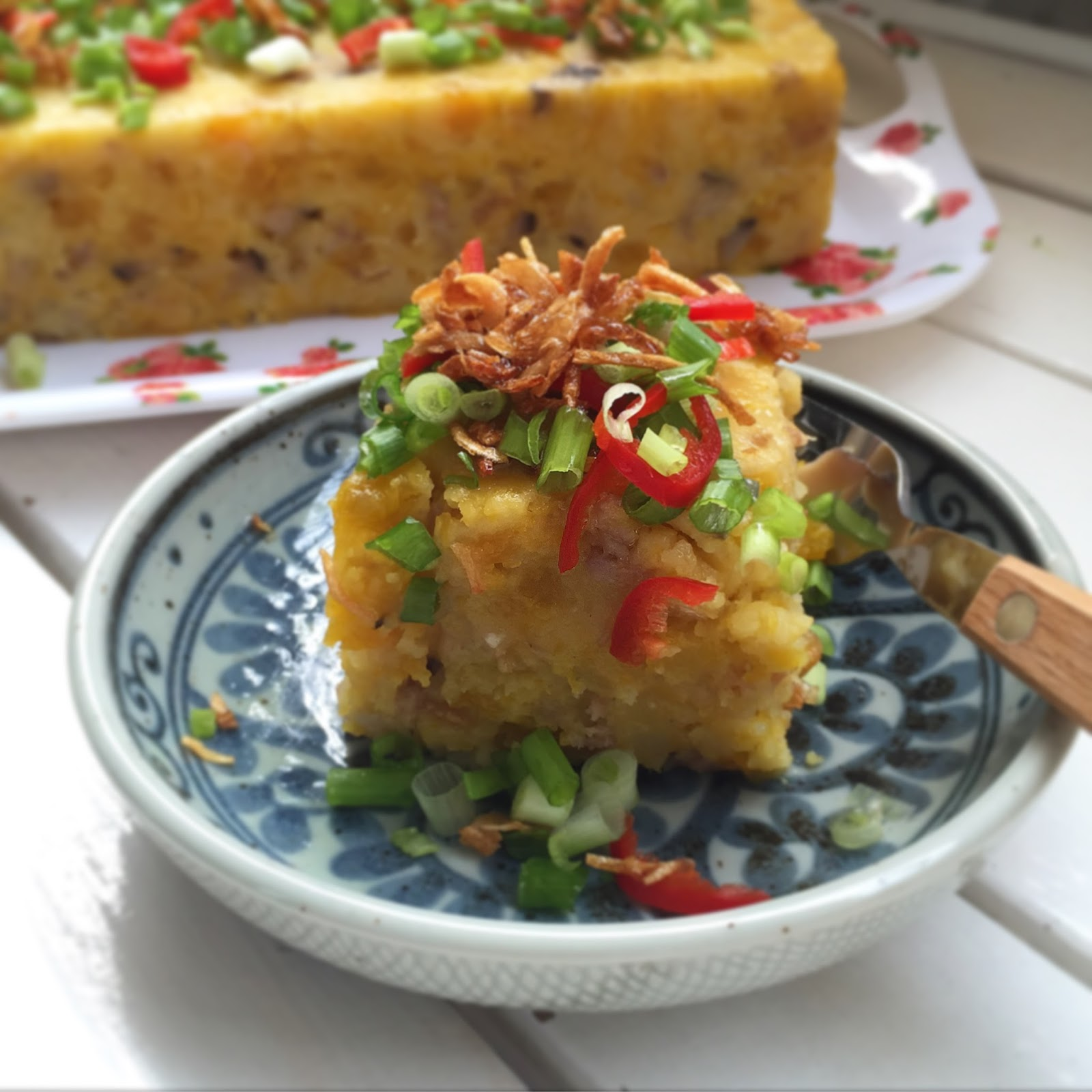 Chinese Steamed Carrot Cake Recipe
