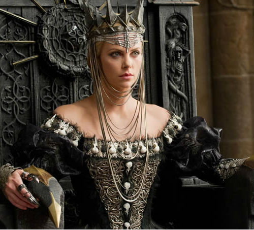 charlize theron evil queen snow white and the huntsman