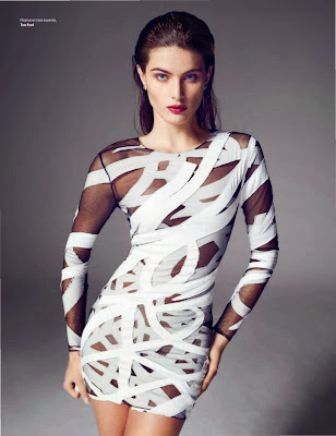 Isabeli Fontana Vogue Ukraine Magazine Photoshoot February 2014 By Marcin Tyszka