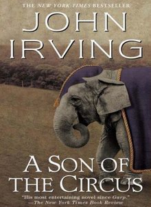 Cover of A Son of the Circus, a novel by John Irving