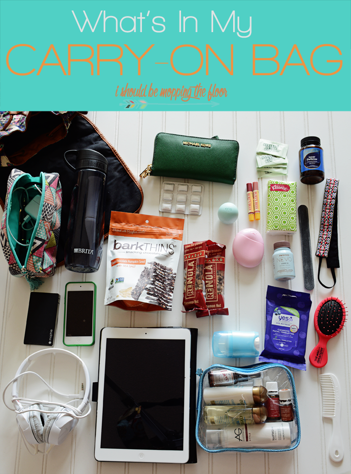 What I Pack Inside My Carry-On Bag | Making air travel a breeze by not checking on any bags. Having a wheelie bag full of your clothing and a backpack full of essentials is the key.