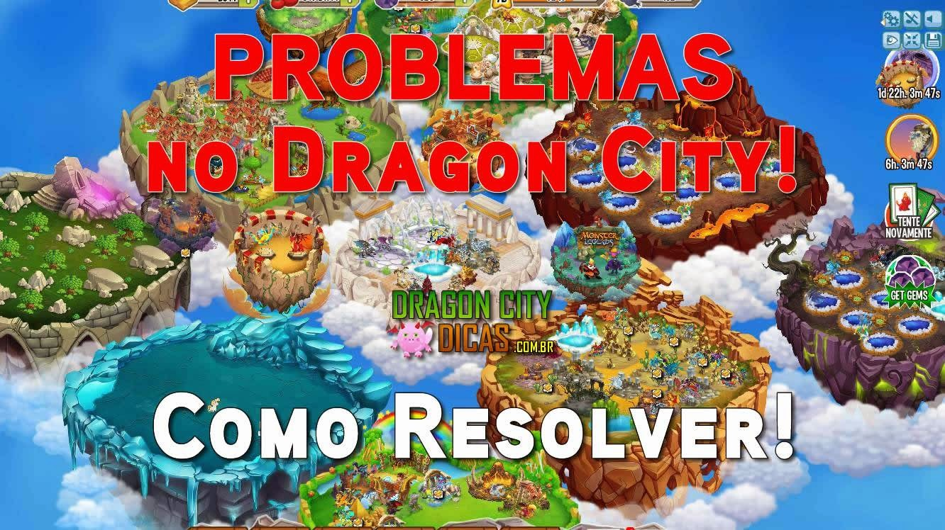 Problemas no Dragon City - Como Resolver!