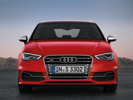 Front image of new Audi S3
