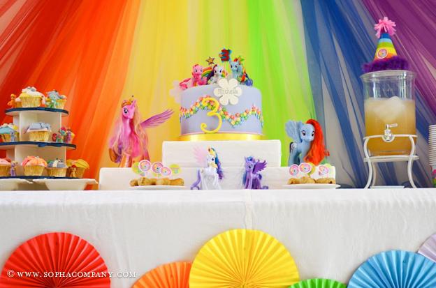 Southern Blue Celebrations My Little Pony Party