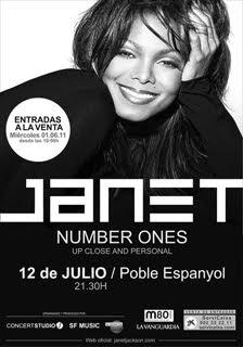 Janet Jackson visita España en junio en única