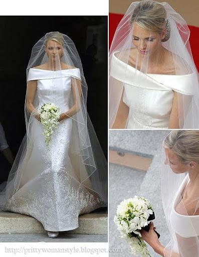 Булчинската рокля на княгиня Шарлийн от Монако