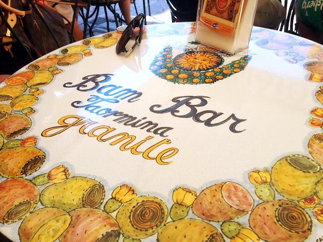 Bam Bar Taormina  |  September in Sicily on afeathery*nest  |  http://afeatherynest.com