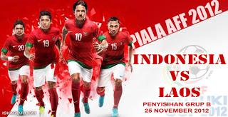 Hasil pertandingan Timnas Indonesia vs Laos grup B