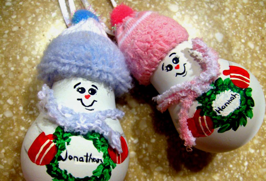 Поделка новогодней игрушки своими руками