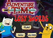 juegos adventure time lost swords