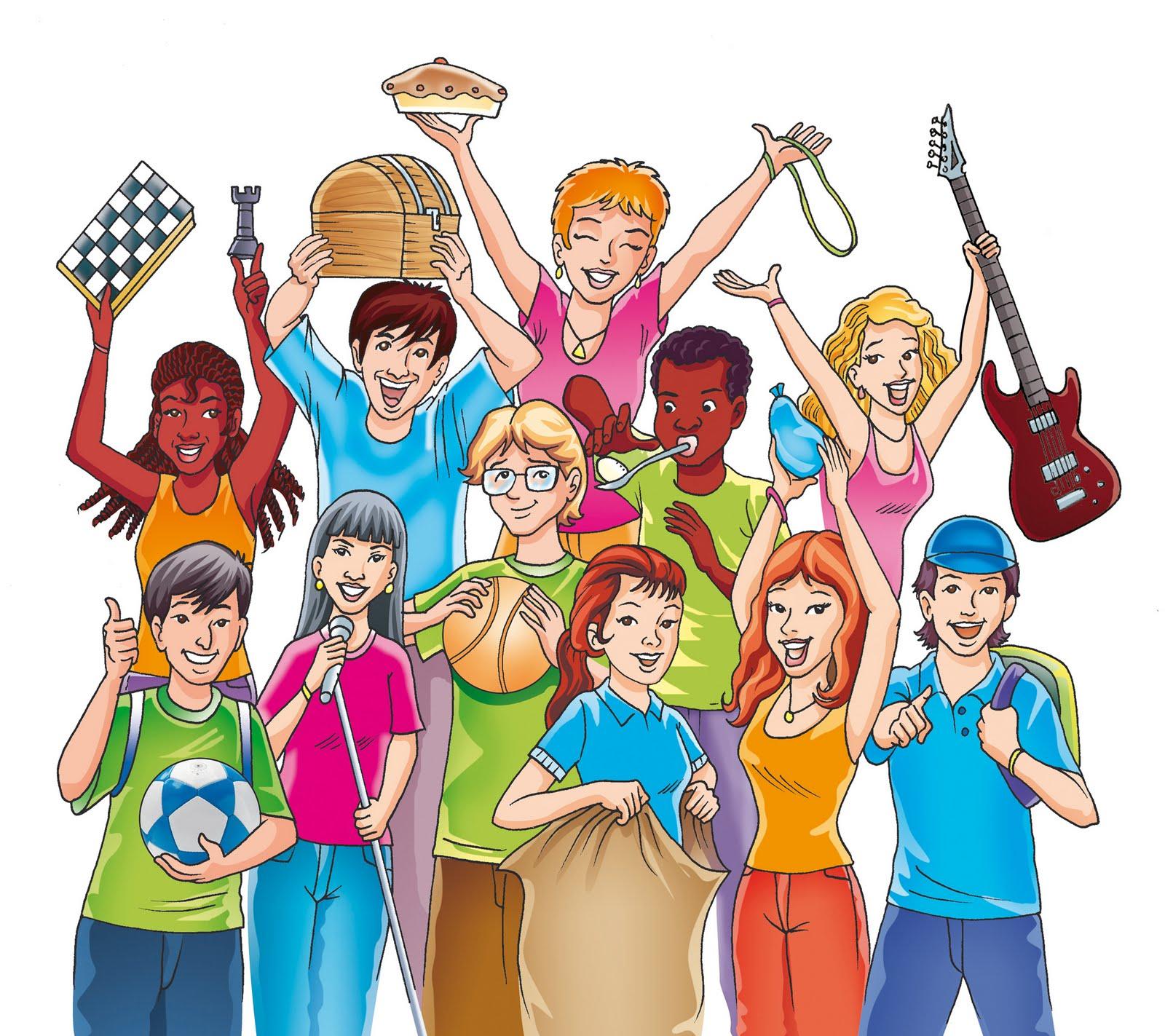 Jovenes de caricatura - Imagui